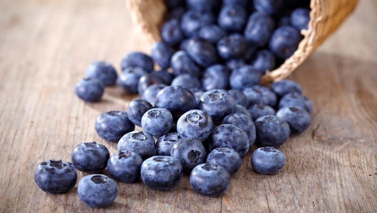 Basket-of-blueberries